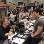 At C2E2 2013 with Sean O'Neill