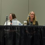 With Anne Bishop, Kerry Schafer, and Amber Benson