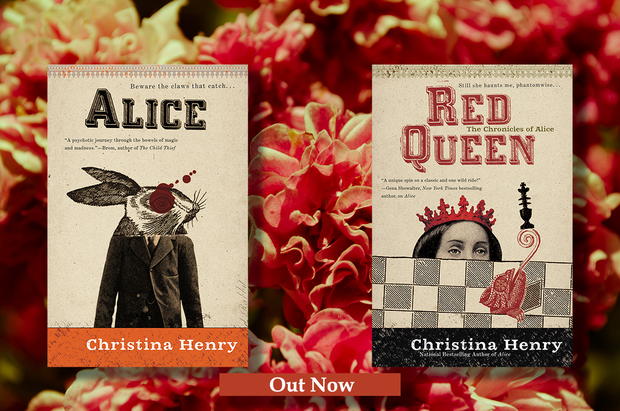 Alice and Red Queen 2 drop shadows